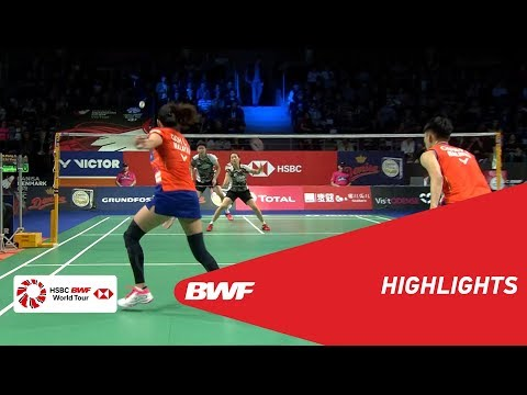 DANISA DENMARK OPEN 2018 | Badminton XD - QF - Highlights | BWF 2018 thumbnail