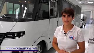 Autocaravana de lujo Frankia I840GD - M3 Caravaning