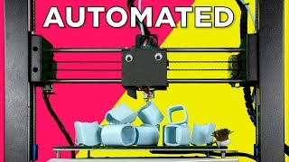 Automatic 3D Print Removal using G-Code
