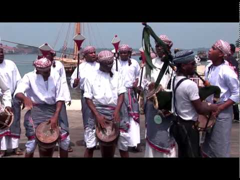 A ship without nails arrives at Cochin
