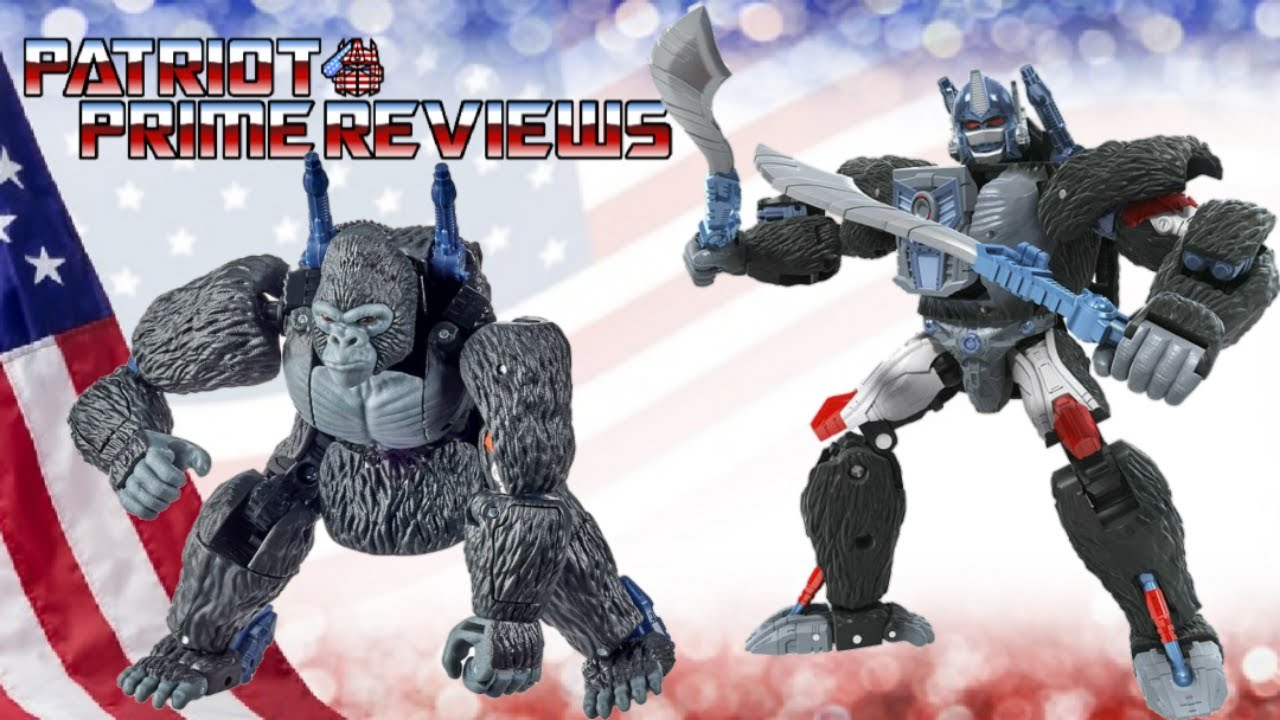 Patriot Prime Reviews Kingdom Optimus Primal