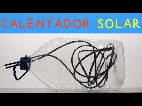 Calentador de Agua con Energía Solar