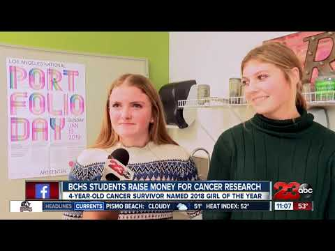 Bakersfield Christian High School students raise money for cancer research