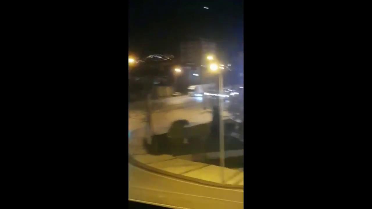 DENİZLİ'DE PATLAMA ANI