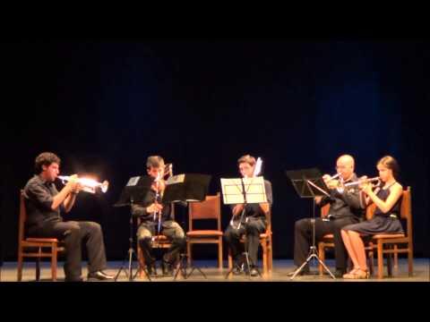 Quinteto de Metales Othaika. Concurso de música de cámara de Zamora.
