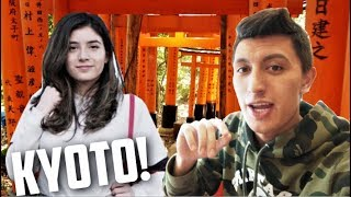 KYOTO TRAVEL VLOG! BEST SIGHTSEEING SPOTS and MUST TRY RESTAURANTS!