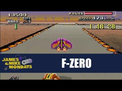 F-Zero (SNES) Part 2 - Queen & King leagues - James & Mike Mondays