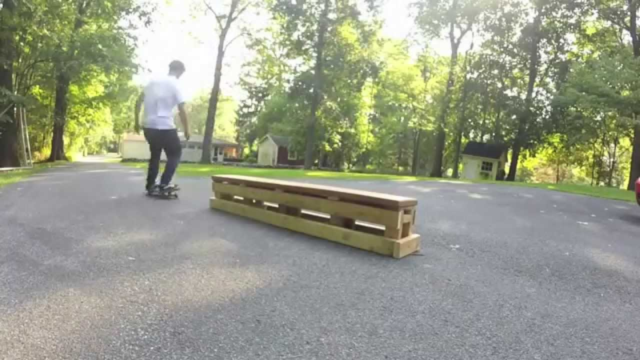 diy skateboard bench youtube