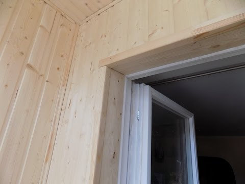 Утепление и отделка балкона часть 2 (монтаж)