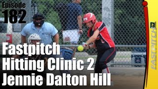 Fastpitch Softball Hitting Clinic Part Two - Jenny Dalton-Hill
