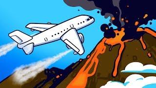 Động cơ đã ngưng hoạt động, nhưng phi công vẫn bay qua đám mây núi lửa thành công