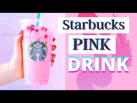 DIY Starbucks Pink Drink   Starbucks Summer Drink