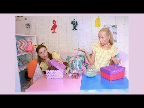 Μυστικό κουτί slime challenge