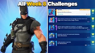 Fortnite All Week 8 Challenges Guide (Fortnite Chapter 2 Season 6) Week 8 Epic & Legendary Quests