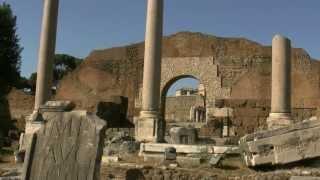 アキーラさん訪問⑤古代遺跡群フォロロマーノ・ForoRomano,Rome(Roma),Italy
