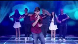 Lucas Santos No Programa Raul Gil cantando Mal Humorado
