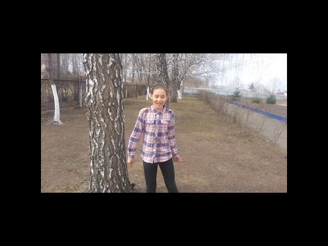 Изображение предпросмотра прочтения – ДианаШеронова читает произведение «Цвет весны» С.А.Есенина