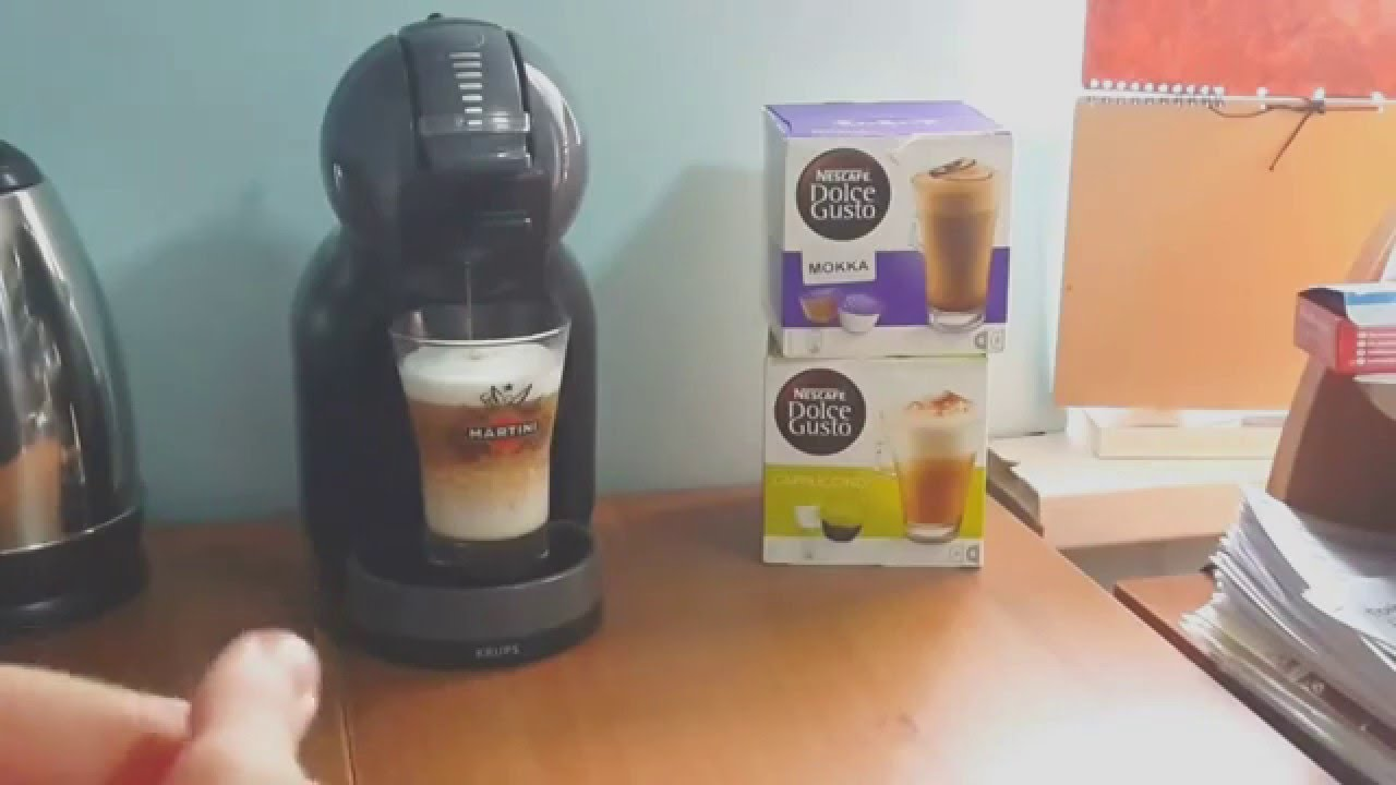 nescafe dolce gusto krups mini me youtube. Black Bedroom Furniture Sets. Home Design Ideas