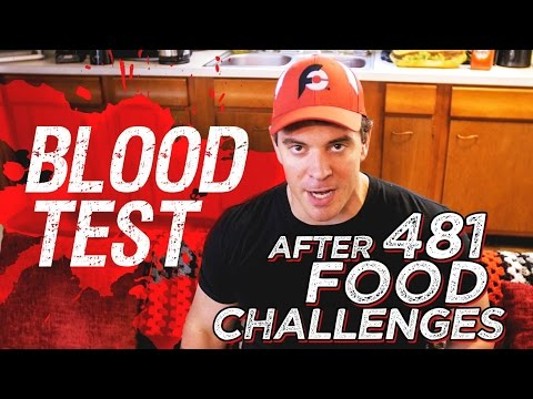 Blood Test Results After 481 Food Challenges!! - 동영상