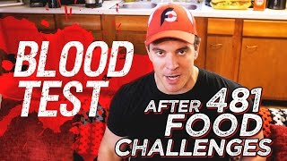 Blood Test Results After 481 Food Challenges!!