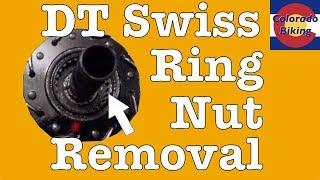 BITUL DT SWISS STAR RATCHET INSTALATION TOOL//RING NUT REMOVAL