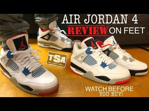 Air Jordan 4 What The Retro Shoes On Feet Sneaker Review WATCH BEFORE YOU BUY!