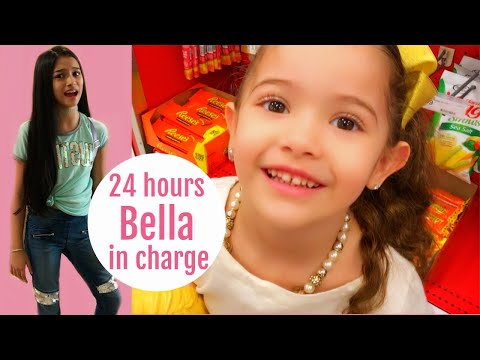 4 YEAR OLD IN CHARGE FOR 24 HOURS!!! PARENTS CAN'T SAY NO!!!
