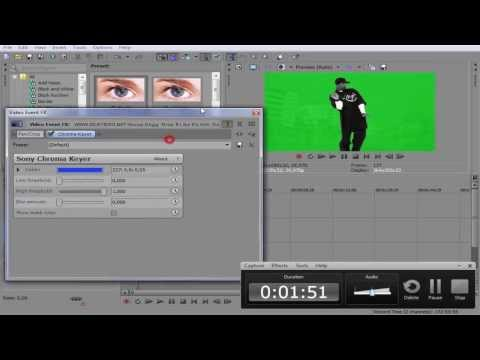 Sony Vegas Pro 'da Green Screen Kullanımı - Türkçe Anlatım -