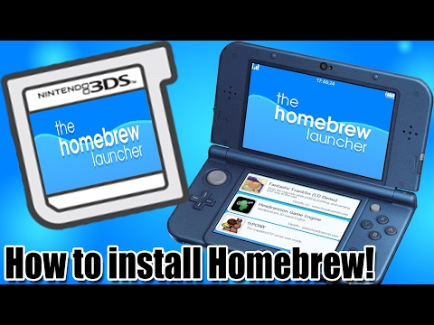 - 3DS - How to Install the Homebrew Launcher on ANY 3ds! (Works on  11 3 0-36!!)