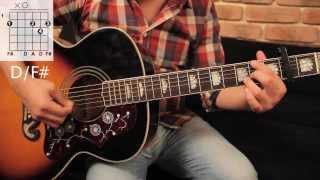 "Como tocar ""Wonderwall"" de Oasis - Tutorial Guitarra (Acordes) HD"