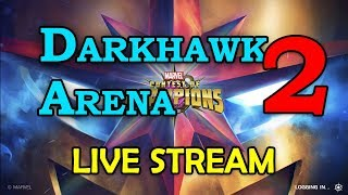 Darkhawk Arena - Round 2 - Part 2 | Marvel Contest of Champions Live Stream thumbnail