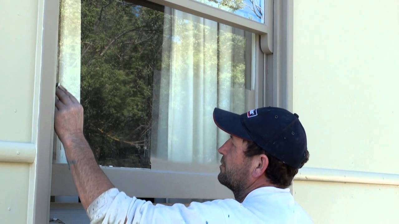 How To Remove Paint From Glass Youtube