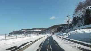 2012年3月4日撮影。 00:00 スタートは天に続く道(別名611の丘)。展望...