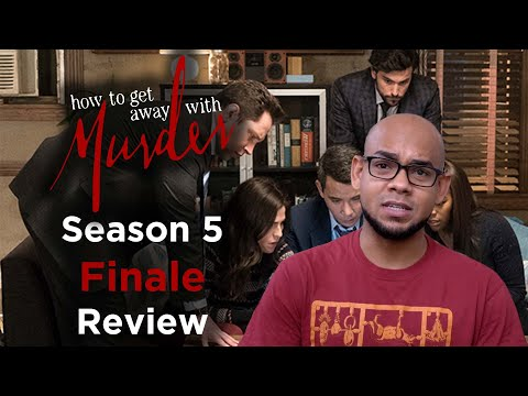 How To Get Away With Murder Season 5 Finale Review + Reaction | WTF?!?
