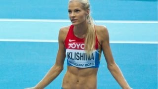 Darya Klishina Дарья Клишина 2013 12v IAAF Moscow WC August 11th (2)
