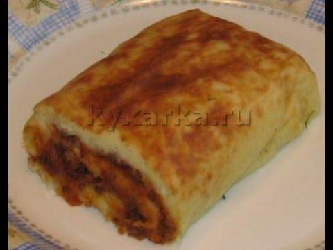 Картофельный рулет / Блюда из картофеля / TVCook ...
