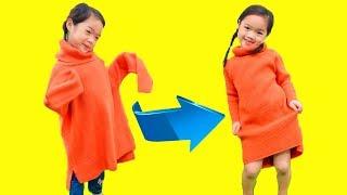 Trang oz Thiết Kế Trang Phục Cho Kiều Anh ❤ Sáng Tạo Cho Trẻ - Trang Vlog