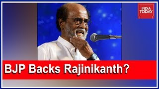 Is Thalaivar Rajinikanth BJP's Ticket To Capture South? | The Burning Question