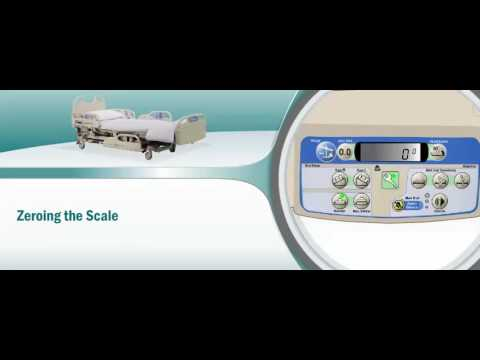 Weighing Hill-Rom Versacare Bed