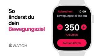 Apple Watch Series 4 - So änderst du dein Bewegungsziel - Apple