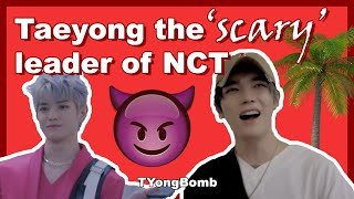 Taeyong The 'scary' Leader Of Nct