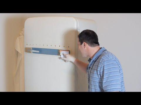 Restoring a vintage freezer
