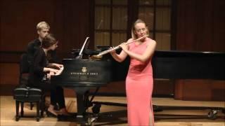 Emma Resmini: Uebayashi Flute Sonata, IV. Allegro