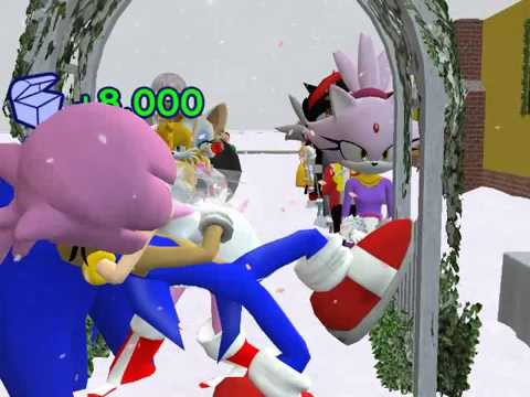 Sonic the Hedgehog and Amy Rose's Wedding in The Sims 2 ...Amy And Sonic Wedding