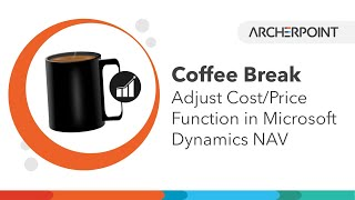 Dynamics NAV Adjust Cost/Price Function