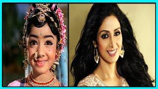 Великолепная Шридеви Капур Звезда Болливуда и Талантливая Индийская Актриса