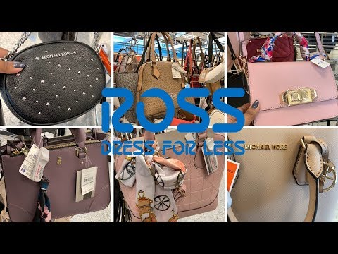 ROSS Handbags Purse In Less | Michael Kors Calvin Klein Aldo Guess | Shop With Me May 2019