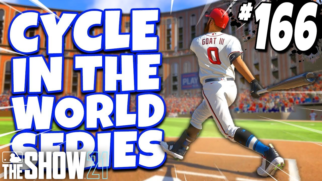 I HIT FOR THE CYCLE IN THE WORLD SERIES! MLB The Show 21 | Road To The Show Gameplay #166