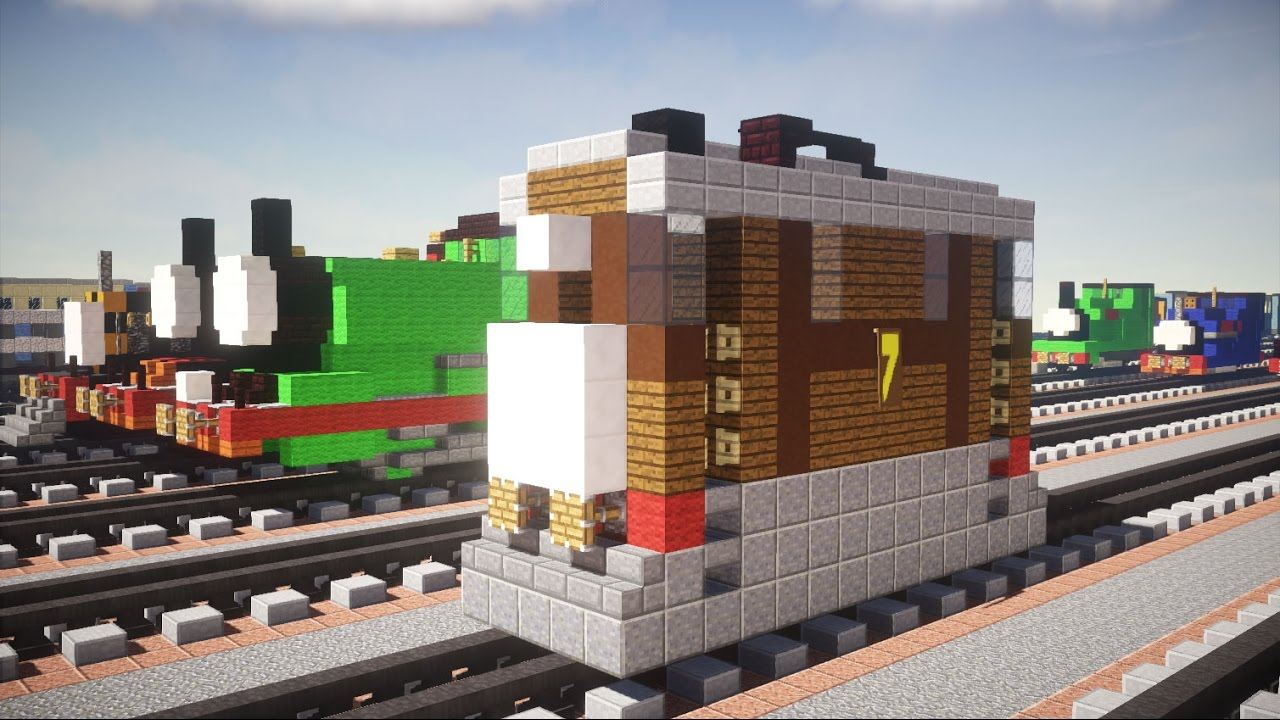 Minecraft Train Build Tutorial