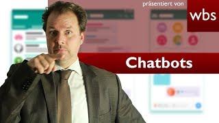 Können Chatbots Verträge schließen? | Rechtsanwalt Christian Solmecke & SEO Experte Felix Beilharz